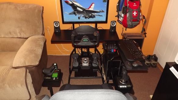 Saitek Pro Pedals and Saitek X52 HOTAS